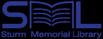 Sturm Memorial Library Logo