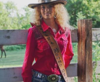 Rodeo Queen Amanda Doman