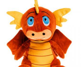 Photo of Cute Stuffed Dragon