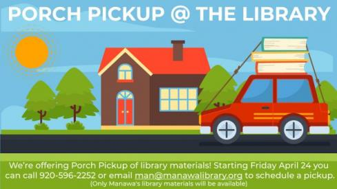 Image of porch pick up poster